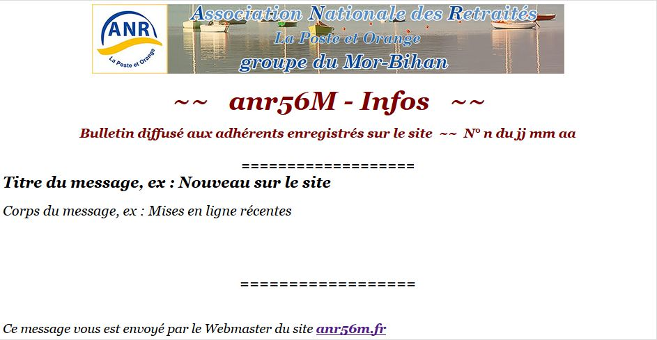Capture modele bulletin anr56m
